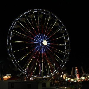 North Carolina State Fair 2010 at Night