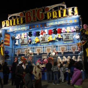 Prize booth at North Carolina State Fair