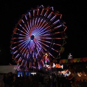 Ferris wheel at North Carolina State Fair