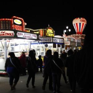 Food stands at North Carolina State Fair