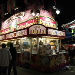 Food stand at North Carolina State Fair