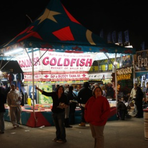Prize booth at North Carolina State Fair
