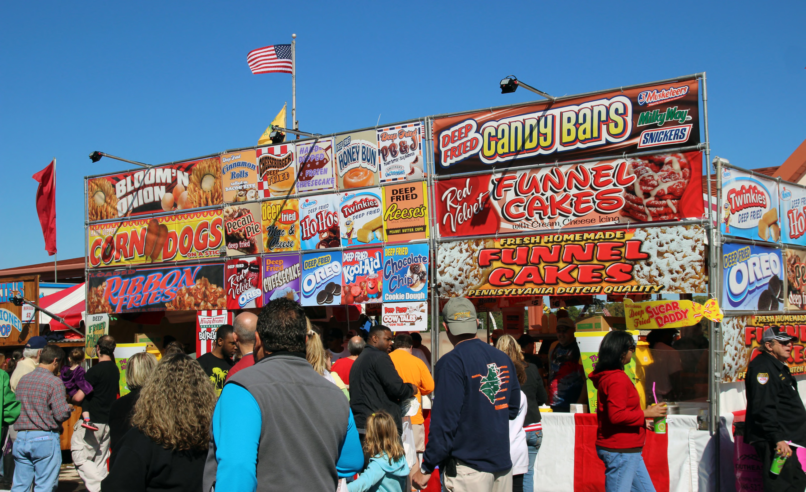 That's a taste of the NC State Fair. Enjoy the scenes from the fair ...