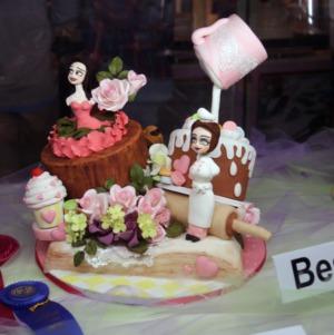 Cake at North Carolina State Fair 2016