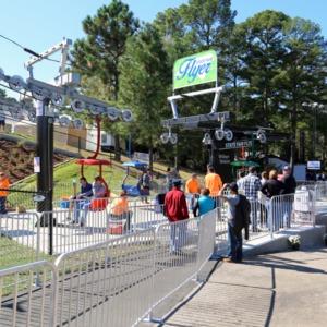 Flyer ride, North Carolina State Fair 2016