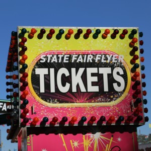 Flyer ride, North Carolina State Fair 2016