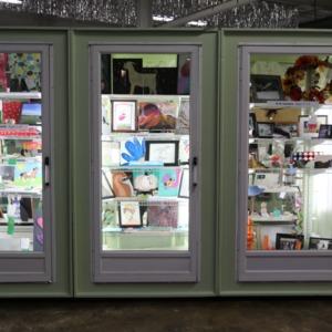 4-H art display at North Carolina State Fair, 2018
