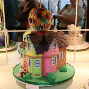 "Award-winning cake decorated as the house from ""Up"" at North Carolina State Fair, 2018"