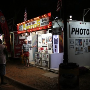Photo booth at North Carolina State Fair, 2018