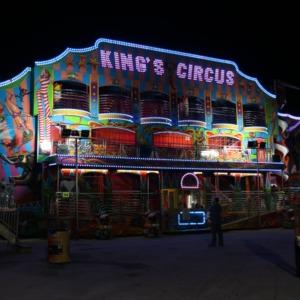 King's Circus ride at North Carolina State Fair, 2018