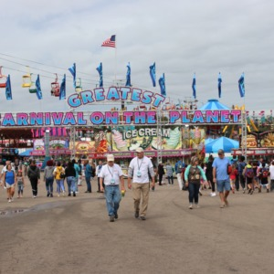 Fair grounds of North Carolina State Fair, 2018
