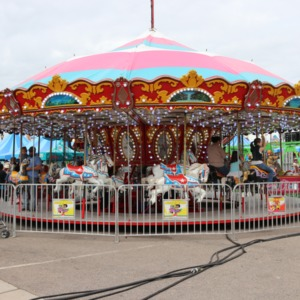 Carousel at North Carolina State Fair, 2018