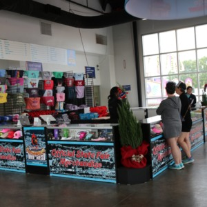 Official State Fair Merchandise booth at North Carolina State Fair, 2018