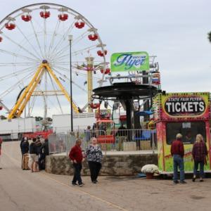 Fair grounds of North Carolina State Fair, 2018
