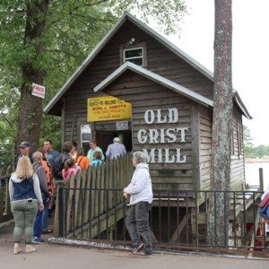 Old Grist Mill food outlet at North Carolina State Fair, 2018
