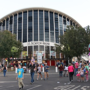 Dorton Arena during North Carolina State Fair, 2018