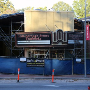 2424 Hillsborough Street Project, November 2015