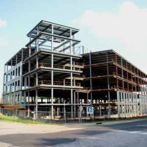 Construction of Alliance Center on Centennial Campus