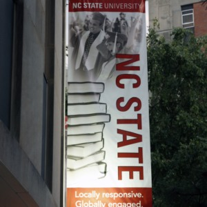 Banner At Harrelson Hall
