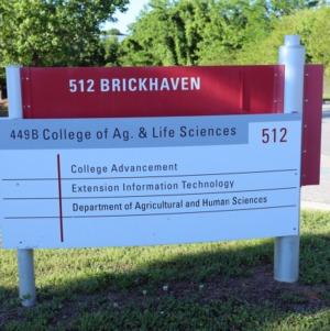 512 Brickhaven Sign May 2017