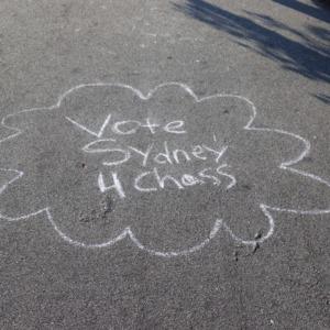 Campaign Sign Chalk 2018