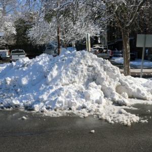 Campus Snow January 2018
