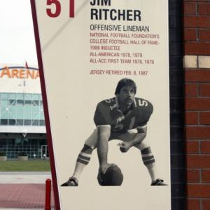 Carter Finley Stadium, Pillar Ritcher
