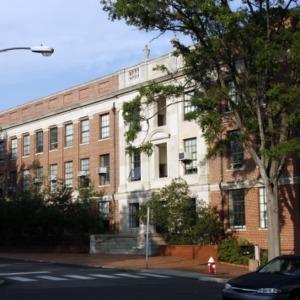 Daniels Hall, West Side
