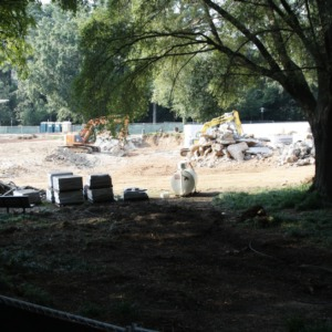Talley Project, Fountain Removal
