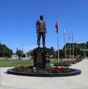 General Shelton Statue in Fayetteville