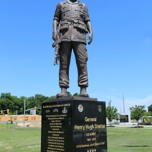 General Shelton Statue in Fayetteville