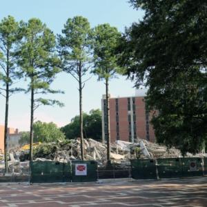 Harrelson Hall Demolition, July 2016