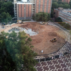 Harrelson Hall Demolition, August 2016