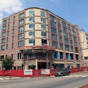 Aloft Hotel Construction June 2015
