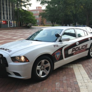 New Campus Police Car