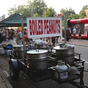 Boiled peanuts at Packapalooza 2014