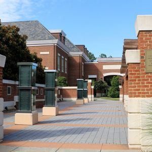 Alumni Center's Donor Plaza