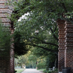 Portico Arch at Holladay Hall