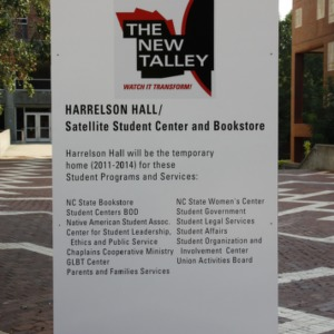 Talley Project, Talley Temporary Sign
