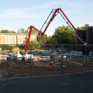 SAS Hall (Mathematics and Statistics Building) Construction