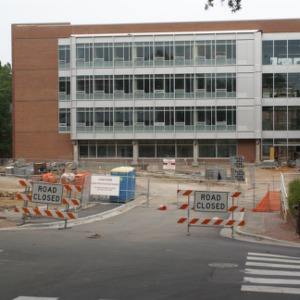 SAS Hall (Mathematics and Statistics Building) Construction