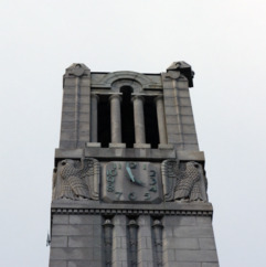 Damage to Bell Tower