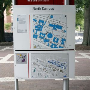 Campus Map on Brickyard