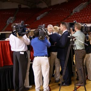 Women's Basketball Press Conference with Athletics Director Lee Fowler