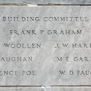 Plaque at Withers Hall