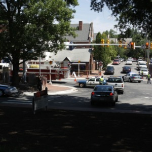 Gas leak during Hillsborough Street roundabout construction