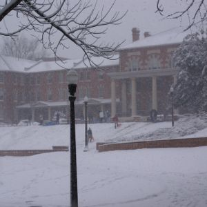 Snow on 1911 Building