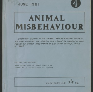 Animal Misbehaviour Journal