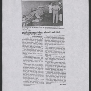 Articles sent by Constance Yarbrough