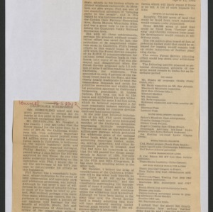 Congressional Clippings -- Conservation